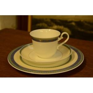 (n-2308) Villeroy&Boch, Villa Adriana kohvitass-taldrikud, komplekt
