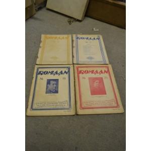 (n-450) 4 vana ajakirja Romaan